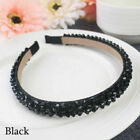 Women Diamond Jewel Gems Pearl Headband Crystal Hair Band Girl Ladies Headwear