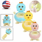 Portable Kids Baby Toddler Lovely Toilet Seat Stool Cartoon chick Potty Trainer image