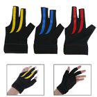 Snooker Billiard Cue Spandex Gloves Pool Left Hand Open Three Finger Glo XE $8.29 CAD on eBay