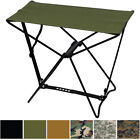 Camo Folding Stool Lightweight Travel Portable Chair Camp Stool Bench Camouflage