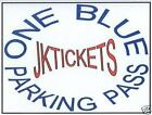 Jacksonville Jaguars at HOUSTON TEXANS BLUE PARKING PASS TICKET Sun 9/15 12-Noon on eBay