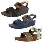 Fitflop Womens Ritzy Back Strap Sandal Shoes