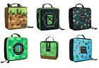 Minecraft Lunch Box: Dirt Block, Miner's Society, Bobble Mobs, Creepy Creeper