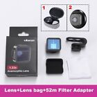 Phone lens Fisheye Telephoto Anamorphic Wide Angle iPhone Samsung HTC LG Sony