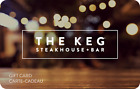 The Keg Steakhouse & Bar Gift Card $25, $50, or $100 - Email delivery <br/> CA Only. May take 4 hours for verification to deliver.