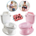 Kids Potty Training Toilet Toddler Boy Girl Chair Seat Trainer Portable Bathroom image
