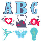 Linked Cricut Cartridges Every one has a Font, Many to Choose -Hard to Find Font