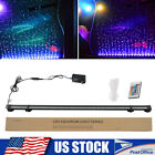 Aquarium Underwater Air Bubble LED Light Fish Tank RGB Submersible Lamp + Remote