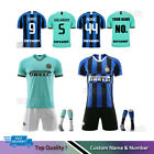 19/20 Football Soccer Full Kit Kids Youth Team Sports Training Strips Suit+Socks