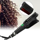Negative Ion Hair Curler Electric Hair Curling Iron Styling  Three-tube Curling