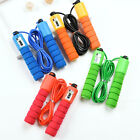 Jump Rope Adjustable Crossfit Fitnesss Exercise Fast Speed Counting 3M Plastic  image