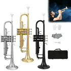 Kyпить New 6 Colors Brass 3 Keys B Flat Trumpet with Case & Accessories на еВаy.соm