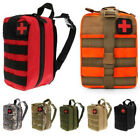 Tactical First Aid Kit Survival Molle Rip Away EMT Pouch Bag IFAK Medical