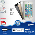 Apple Iphone 5s - 16/32gb - Unlocked Smartphone - Various Colours All Grades