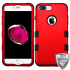 For iPhone 7 / 8 Plus TUFF Hybrid Design Phone Armor Protector Cover Case