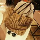 Women Handbag Summer Beach Bag Rattan Woven Handmade