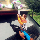 Funny 3D Toy Story 4 Sherif Woody And Buzz Car Doll Outside 2019 Car Hanging toy