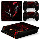 PS4 Pro Playstation 4 Pro Console and Controllers Vinyl Skin Decal Stickers