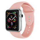 For Apple Watch iWatch Series 5/4/3/2/1 44mm 40mm 42mm 38mm Sport Silicone Band