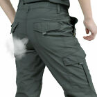 Men's Tactical Pants Combat Quick-dry Lightweight Waterproof Cargo Hiking Pants