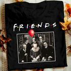 Unisex Horror Friends Pennywise Michael Myers Jason Voorhees Halloween T-Shirt image