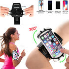 360° Rotatable Sports Phone Armband Running Cell Phone Holder for Universal