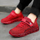 Kids Tennis Shoes for Boys Girls Breathable Knit Athletic Running Sneakers
