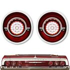 64 Chevy Impala Red Clear LED Reverse Back Up Light Lens Assembly