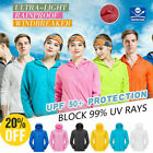 Men's Women Outdoors Jacket Windproof Ultra-Light Rainproof Windbreaker Top Coat