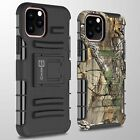 For Apple iPhone 11 Pro Belt Clip Tough Hybrid Cover Holster Hard Phone Case