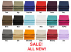 """Single Fitted Sheet Premium™ Collection 2800 Series Count 18 Colors UP TO 16""""  image"""