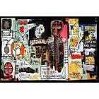 Z-3249 Hot Painting Graffiti Jean Michel Basquiat Custom Gift Poster Art Decor