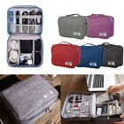 Waterproof Electronic Cord Organizer Cable Bag Travel Digital Cord Case Pouch US