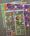 BoBunny 12x12 Scrapbook Paper Boo Crew Ghoul Friends Stickers Halloween