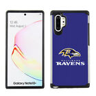 For Samsung Galaxy Note 10 Plus - Official NFL Football Armor Hybrid Cover Case