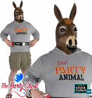 ADULT PARTY JACKASS COSTUME Funny Stag Night Donkey Animal Fancy Dress Outfit
