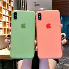 For iPhone 11 Pro Max XR 8 7 6 Plus Liquid Silicone Protective Phone Case Cover
