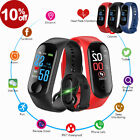 NEW Smart Watch Bracelet Wristband Fitness Tracker Blood Pressure HeartRate HOT