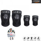 Adults Knee and Elbow Pads with Wrist Guards Protective Gear Set image