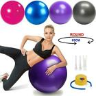 Fitness Exercise Ball Yoga Gym Swiss Pregnancy Birthing Anti-Burst WithPump image