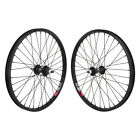 "Wheelmaster 20"" Alloy Wheelset Front & Rear BMX Bike 20-inch wheels ISO 406"