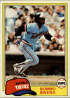 1981 Topps Baseball Cards 251-500 +Rookies (A2337) - You Pick - 10+ FREE SHIP