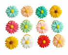 Cute Daisy Hair Bows W/Rubber Bands For Small Pet  Dog Cat Grooming Accessories