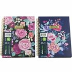 Mintgreen 2020 Monthly Weekly Planner Agenda Hardcover Floral Choose Cover