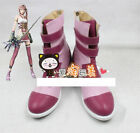 NEW! Final Fantasy 13 Serah Boot Party Shoes Cosplay Boots