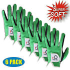 Golf Gloves Medium Large Left Hand Mens 6 Pack RH LH Medium M/L X-Large Soft US
