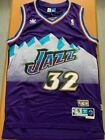 Karl Malone #32 Utah Jazz Purple Classic Swingman Men's Basketball Jersey
