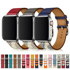 Genuine Leather Band Strap for Apple Watch iWatch Series 5 4 3 2 1 38/42/40/44mm image