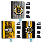 Boston Bruins Leather Case For iPad 1 2 3 4 Mini Air Pro 9.7 10.5 12.9 $18.99 USD on eBay