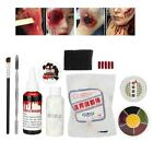 Halloween Special Effects Body Paint Makeup Wax Wound Scars Cosmetic Set